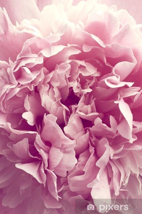Sticker Pixerstick Fleur de pivoine - Plantes et fleurs