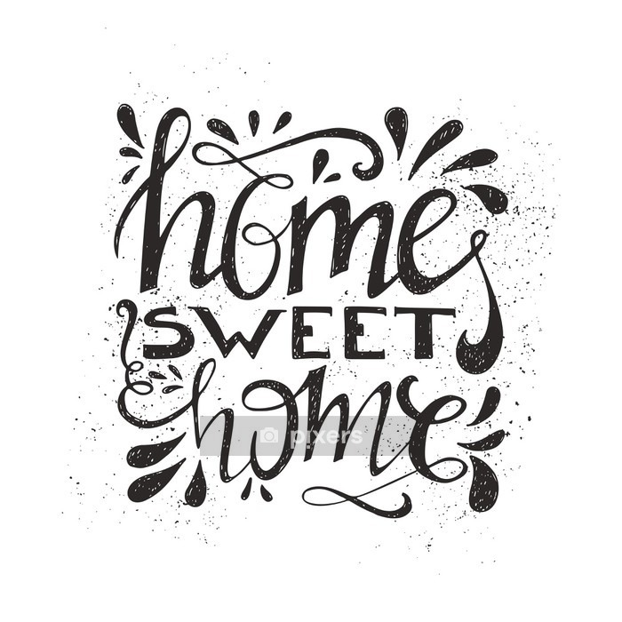 Home Sweet Home Wall Decal - States of Mind