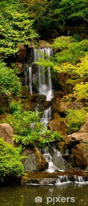 Papier peint vinyle Jardins japonais Cascade à Portland, Oregon - Thèmes