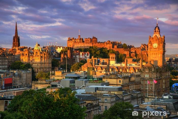 Fototapeta samoprzylepna Zamek w Edynburgu Szkocja - Tematy
