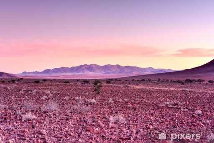 Fototapeta winylowa Namibrand Zachód słońca - Namibia - Pejzaż