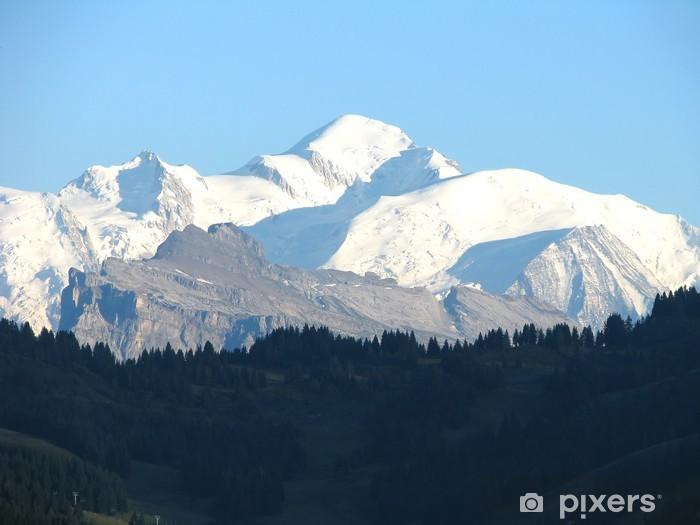 Papier peint Mont Blanc • Pixers® - Nous vivons pour changer