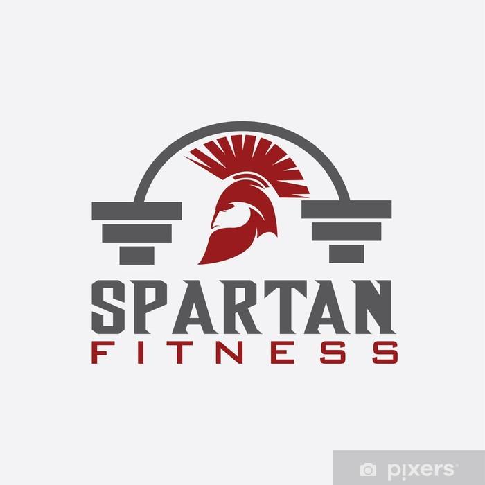 Fototapeta winylowa Spartańskie siłownia szablon projektowanie - Sporty indywidualne