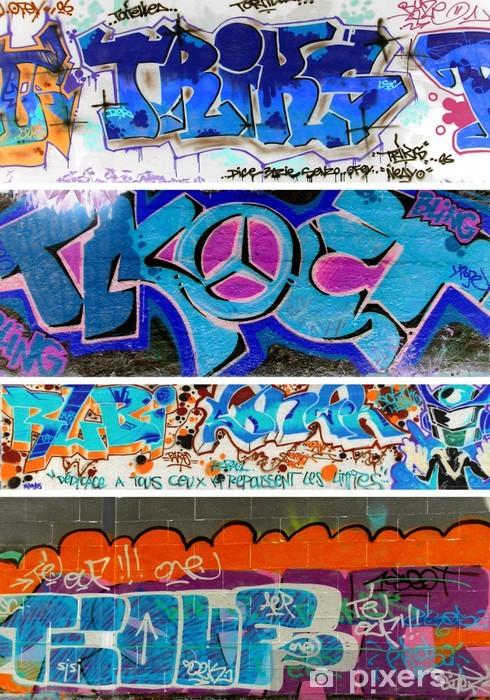 Vinyl-Fototapete Urban art - Kunst und Gestaltung