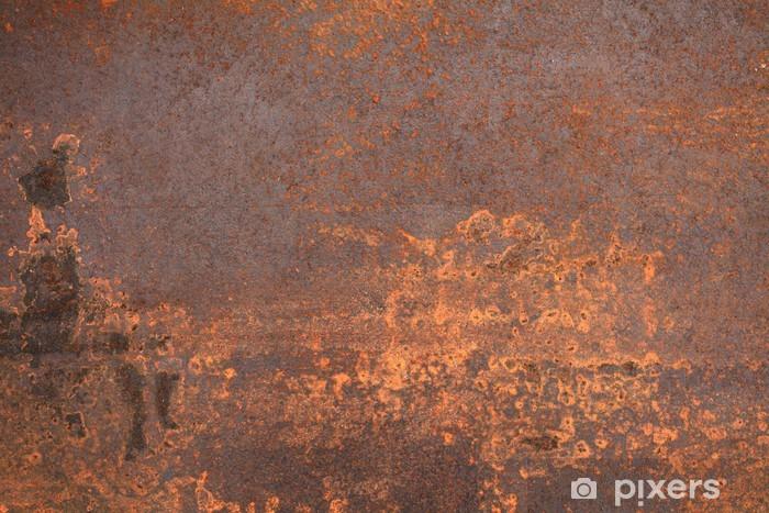 rusty metal Vinyl Wall Mural - Textures