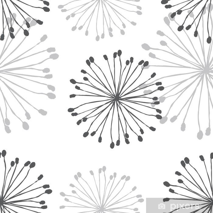 Sticker Pixerstick Dandelion Patern - Arrière plans