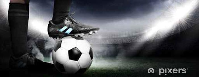 Vinilo Pixerstick Fútbol - Deportes