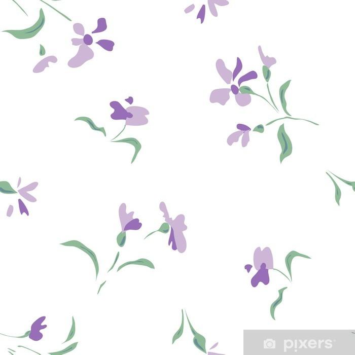 Papier peint vinyle Petit motif de fleur - Ressources graphiques
