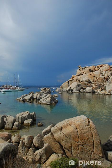 Nálepka Pixerstick Rochers et ciel d'orage en Corse - Prázdniny