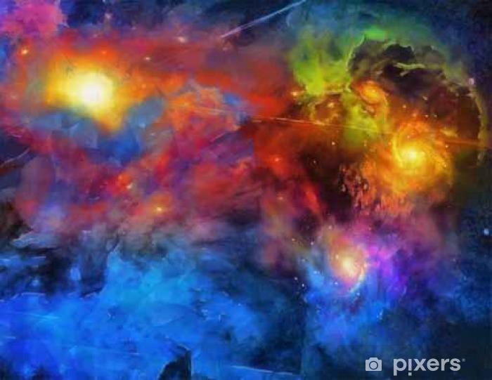 Fototapet av vinyl Deep Space Maleri - Vitenskap