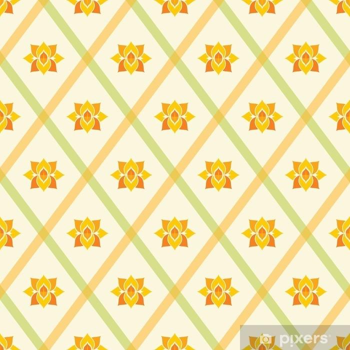 Fototapeta zmywalna Streszczenie wzór geometryczny wzór tapety bezszwowe tło - Zasoby graficzne