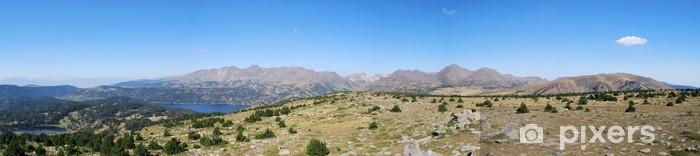 Naklejka Pixerstick Capcir - au du Carlit palm szczyt - Góry