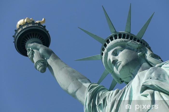 Sticker Pixerstick Statue of liberte - Villes américaines