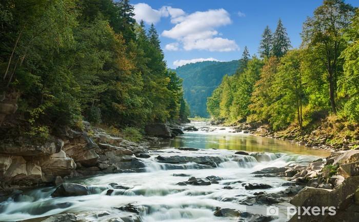Vinilo Pixerstick Río de montaña -