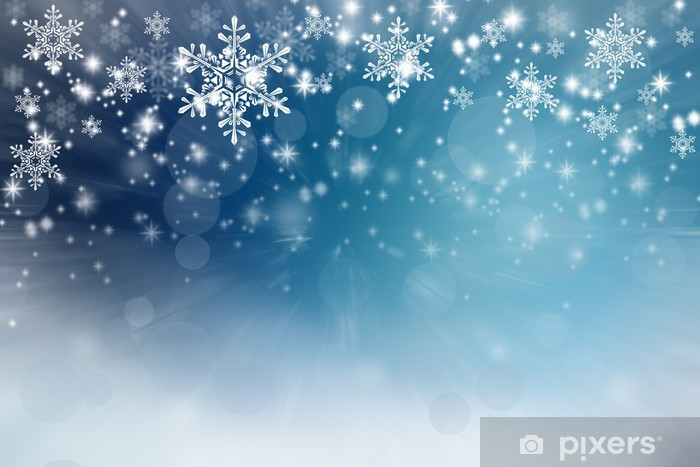 Christmas background Vinyl Wall Mural - Backgrounds