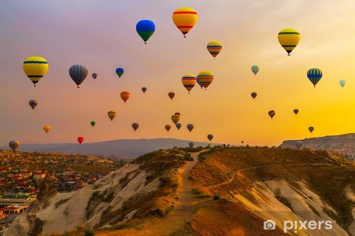 Papier peint vinyle Ballons CappadociaTurkey. - Autres