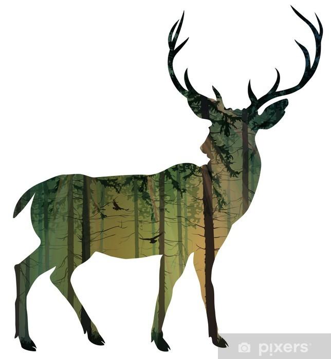 Vinyl Fotobehang Deer - Zoogdieren