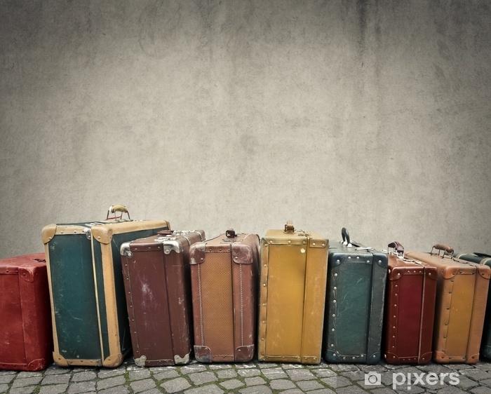 Fotomural Autoadhesivo Maletas - Viajes