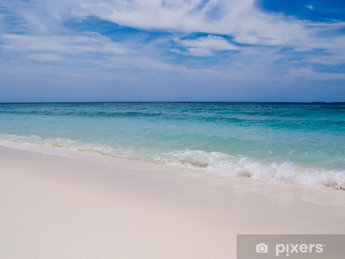 Fototapeta winylowa Fale na plaży - Woda