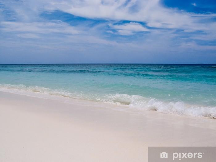 Naklejka Pixerstick Fale na plaży - Woda