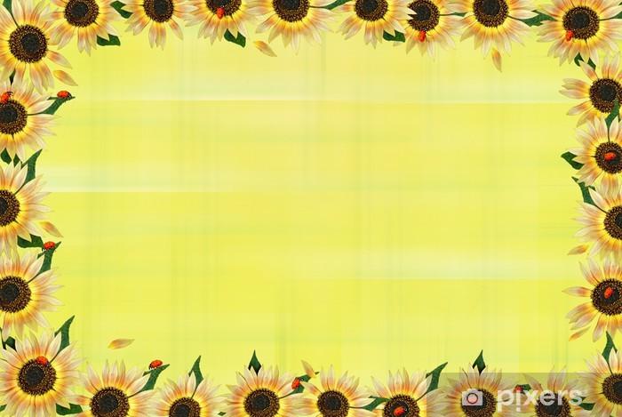 Vinyl-Fototapete Sunny Border - Andere Andere