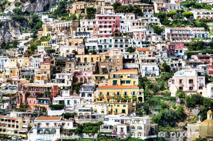 Papier peint vinyle Positano, Côte amalfitaine, Italie - Europe
