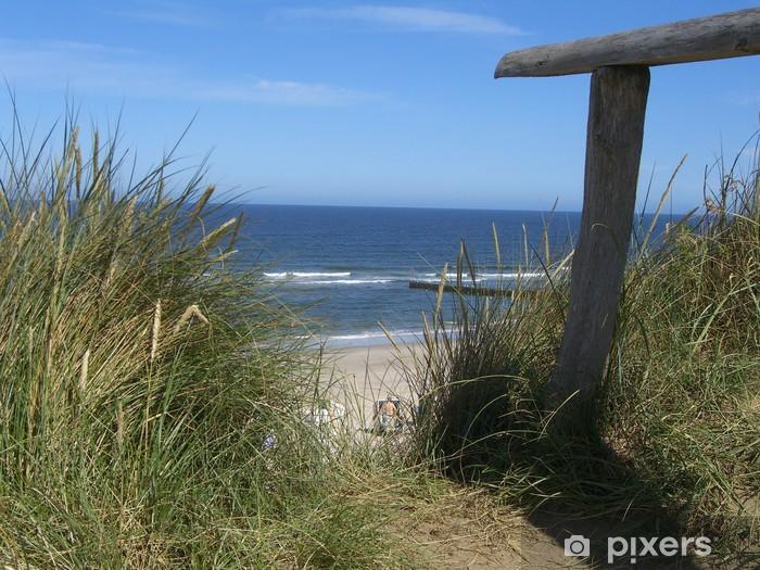 Naklejka Pixerstick Rotes Kliff, Kampen / Sylt - Wakacje