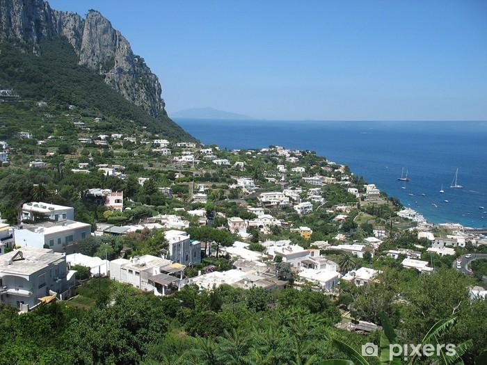 Vinyl-Fototapete Sommer Capri - Europa