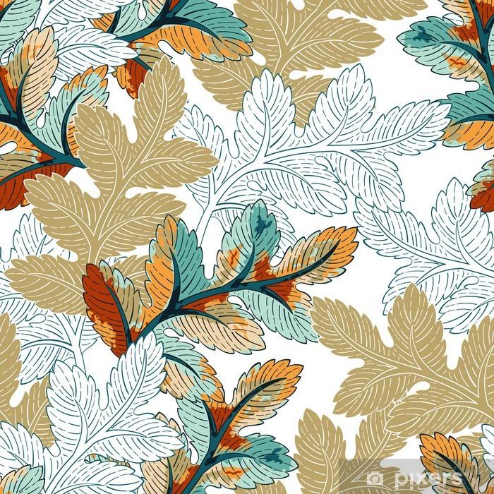 Zelfklevend Fotobehang Branch naadloze patroon - Planten
