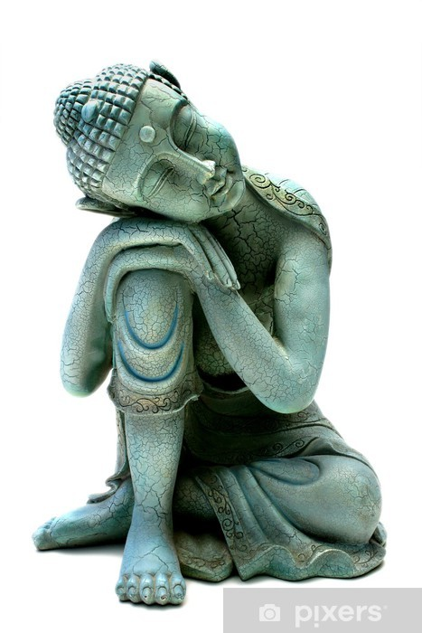 Vinyl-Fototapete Buddha entspannen - Wandtattoo