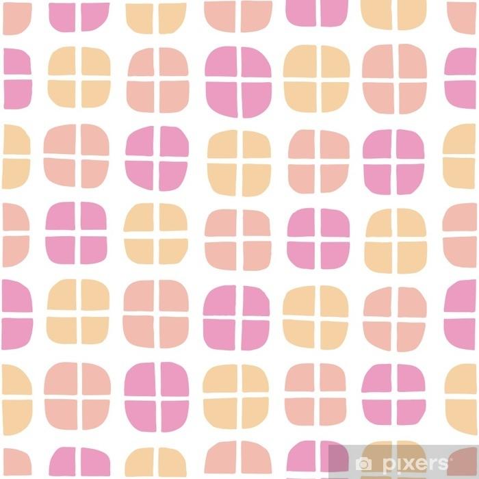 Papier peint vinyle Cercles abstraits de modèle sans couture.抽象 的 な 円 パ タ ー ン - Ressources graphiques