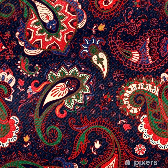 Papier peint vinyle Vecteur motif paisley seamless - Ressources graphiques