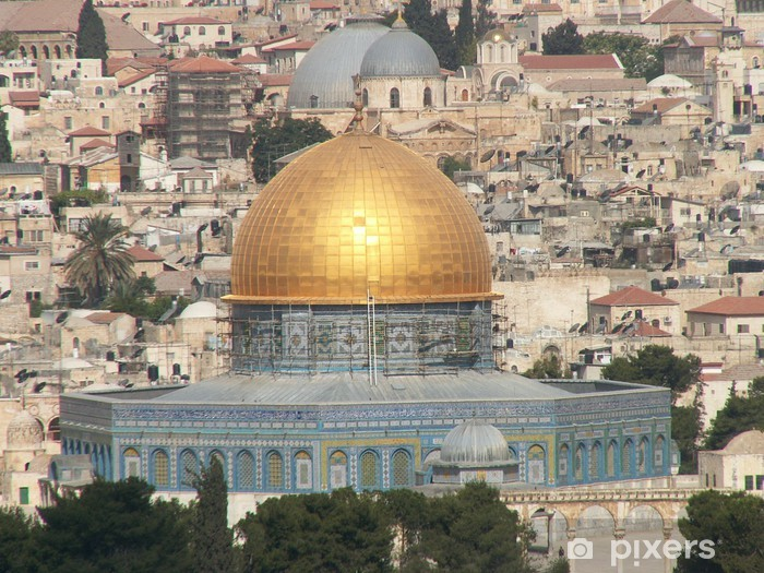 Fototapeta winylowa Jerozolima - Kopuła na Skale - Bliski Wschód