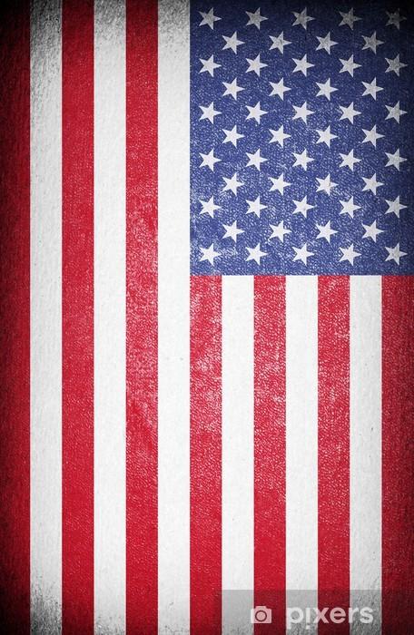 American Flag Wall Mural Pixers