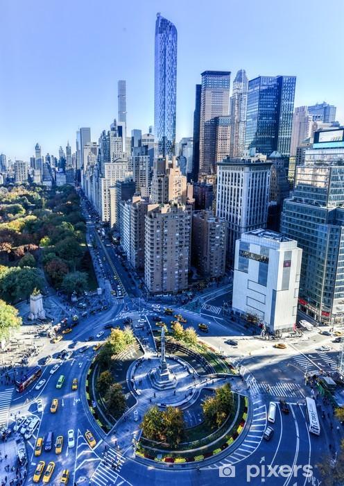 Fototapeta winylowa Central Park South - Nowy Jork - Budynki przemysłowe i handlowe