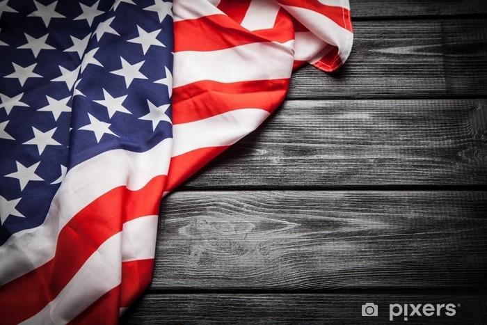 Koc pluszowy Flaga usa - Zasoby graficzne