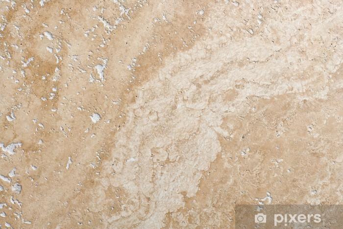 Fototapete Travertin-Stein • Pixers® - Wir leben, um zu verändern
