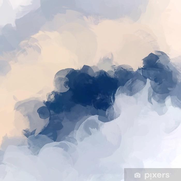 Clouds abstrakt baggrund Vinyl fototapet - Grafiske Ressourcer