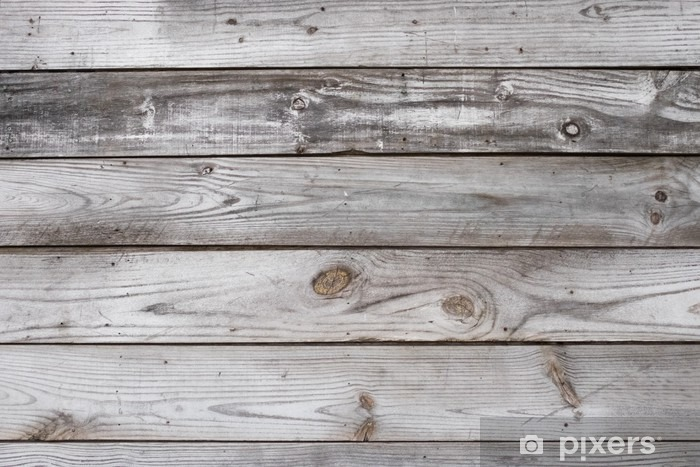 Aged Wood Background Texture Horizontal Vinyl Wall Mural - Graphic Resources