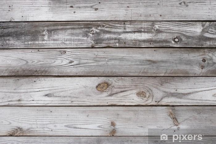 Zelfklevend Fotobehang Aged houten textuur Horizontale - Grafische Bronnen