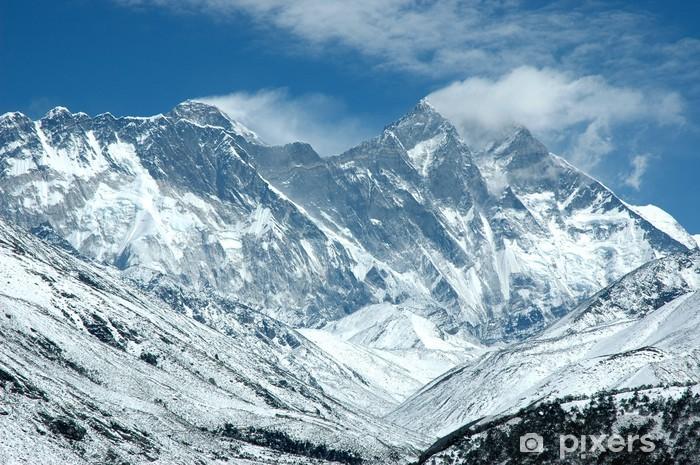 Fototapeta winylowa Wschodniej ścianie Mount Everest - Tematy