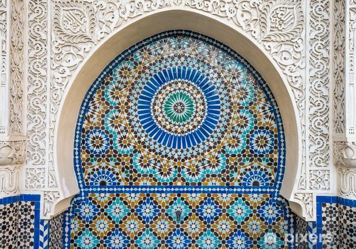 moroccan tile decor Pixerstick Sticker - Backgrounds