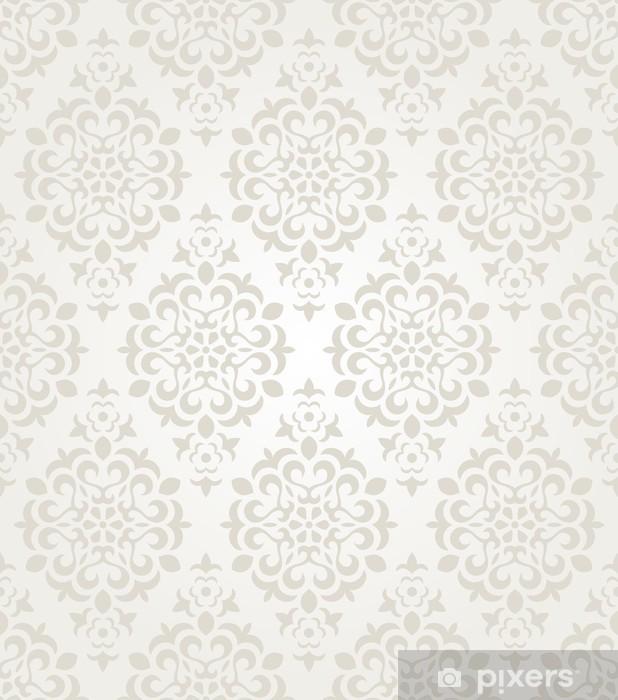 Floral Vintage Wallpaper Fridge Sticker