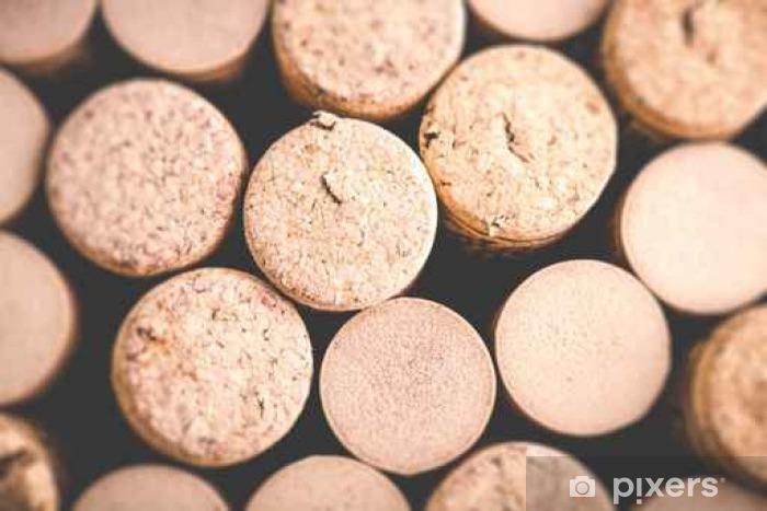 Pixerstick Aufkleber Wein Hintergrund - tilt shift selektiven Fokus Effekt Foto - Getränke