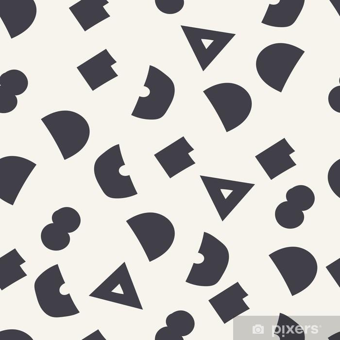 Carta da Parati in Vinile Seamless pattern geometrici - Risorse Grafiche