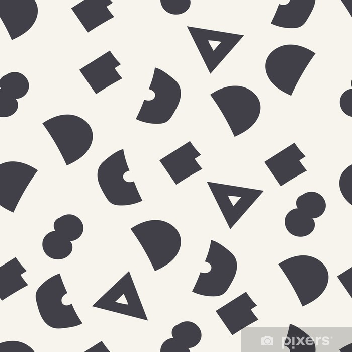 seamless geometric pattern Vinyl Wall Mural - Graphic Resources