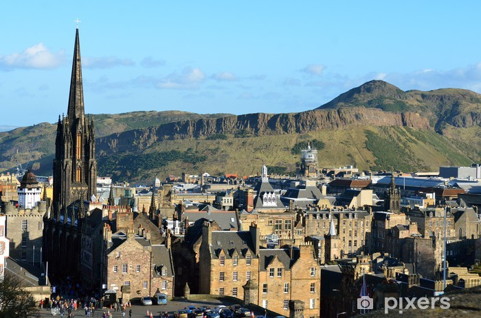 Vinyl Fotobehang Edinburgh, Schotland, Groot-Brittannië .. - Thema's