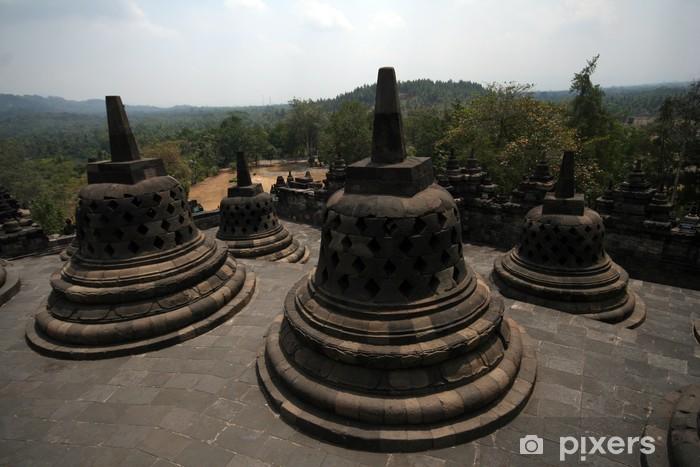 Sticker Pixerstick Borobudur - Asie