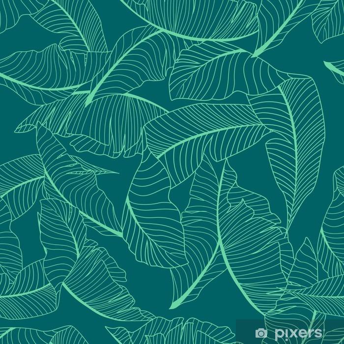 Naklejka Pixerstick Wzór palmy - Zasoby graficzne