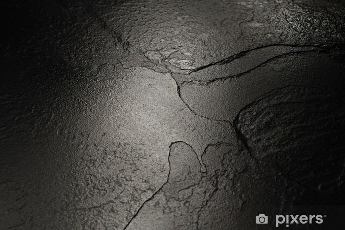 Fototapeta winylowa Czarny kamień tekstury tła. - Zasoby graficzne